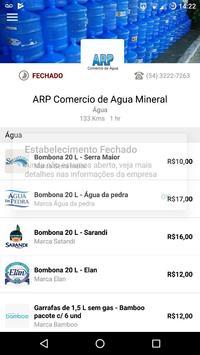 ARP Delivery de água poster