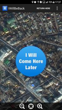 I will come back later poster