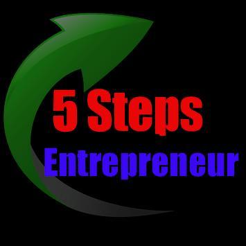 5 Steps To Be An Entrepreneur apk screenshot