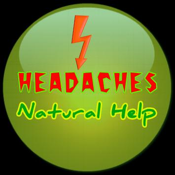 Headaches Natural Help poster