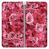 Rose Zipper Screen Lock icon