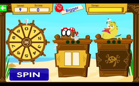 Umigo: Spin for Treasure Game screenshot 2