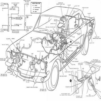 Car Wiring Diagram poster