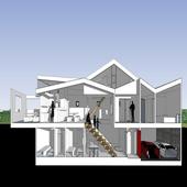 House plan design ideas icon