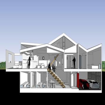 House plan design ideas poster