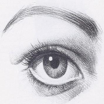 Pencil sketch art easy poster