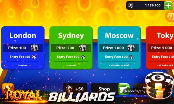 Royal Billiards - 8 Ball Pool screenshot 5