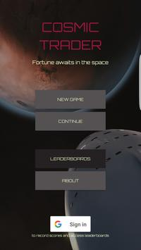 Cosmic Trader poster