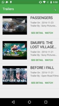 Hollywood Trailers screenshot 1