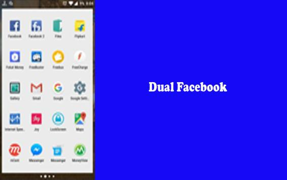 Dual FB android v3 poster