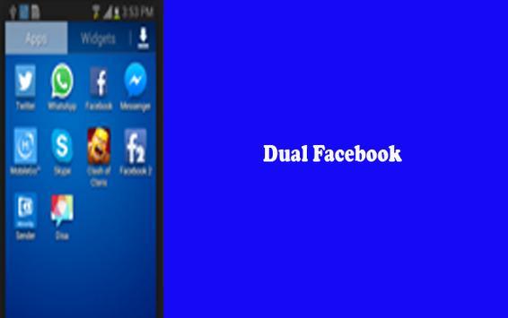 Dual FB android v3 apk screenshot