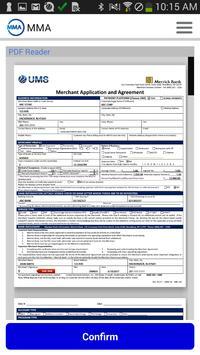 Mobile Merchant Application screenshot 3