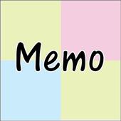 Sticky notes - Memo Widgets icon