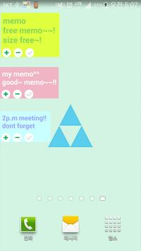 Sticky notes - Memo Widgets poster