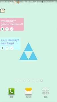 Sticky notes - Memo Widgets apk screenshot