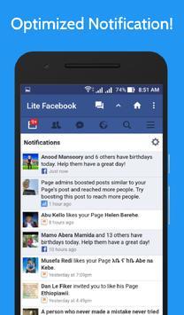 Lite for Facebook - Fast & Secure screenshot 6