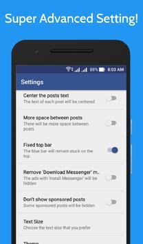 Lite for Facebook - Fast & Secure screenshot 7