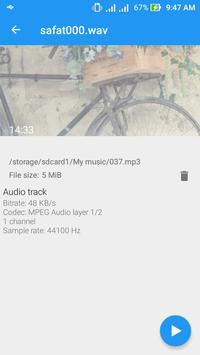 Music Player for Android apk screenshot