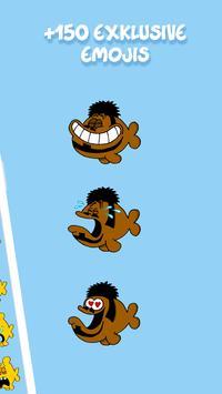 Ruthe Cartoons - Emoji & Sticker Keyboard App screenshot 1