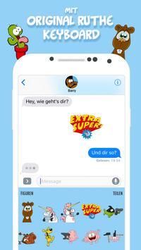 Ruthe Cartoons - Emoji & Sticker Keyboard App screenshot 2