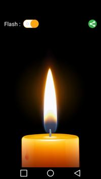 Candle Flashlight poster