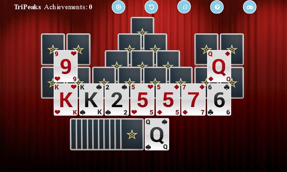 TriPeaks Solitaire* apk screenshot