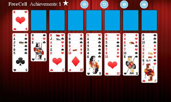 FreeCell screenshot 4