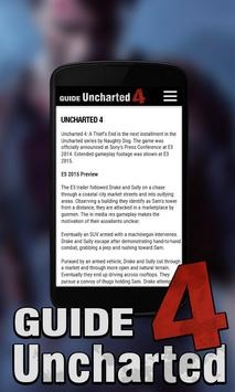 Uncharted 4 Guide apk screenshot