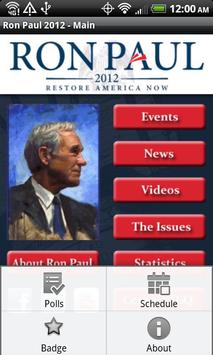 Ron Paul 2012 Election poster