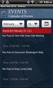 Ron Paul 2012 Election apk screenshot