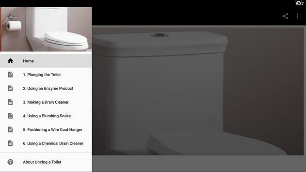 Unclog a Toilet poster