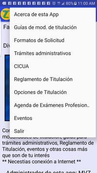 Titulación FMVZ screenshot 1