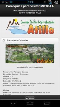 Turismo MCTCAA Atillo poster