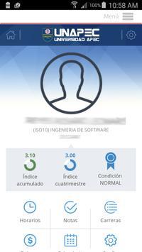 UNAPEC Virtual Estudiantes poster