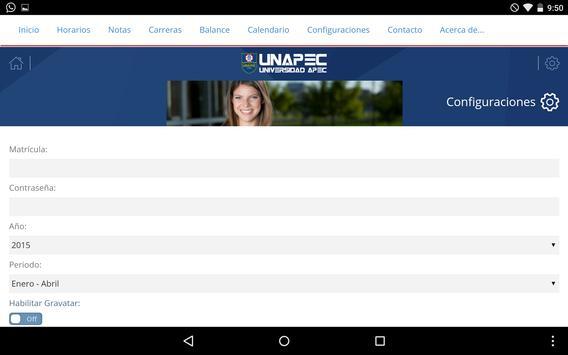 UNAPEC Virtual Estudiantes screenshot 11