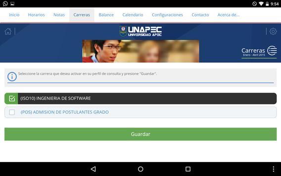 UNAPEC Virtual Estudiantes screenshot 14