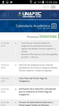 UNAPEC Virtual Estudiantes screenshot 5