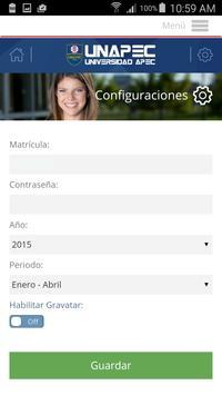 UNAPEC Virtual Estudiantes screenshot 6