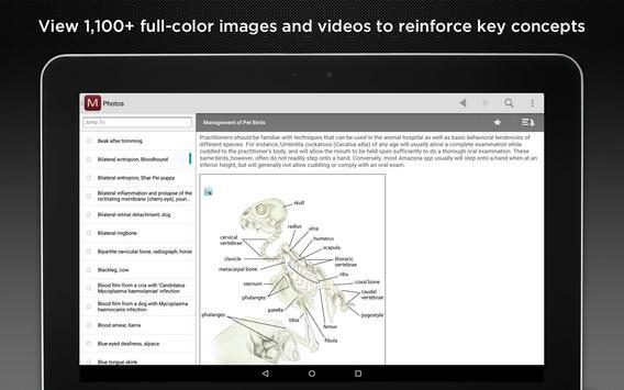 MSD Veterinary Manual apk screenshot