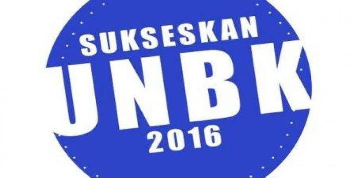 UNBK 2016 poster