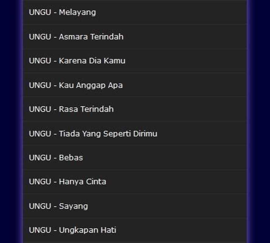 Download lagu ungu penyanyi jalanan.