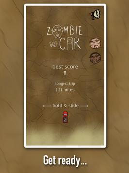 Zombie Vs. Car apk screenshot