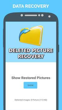 Recover All Deleted Pictures : Restore Photos Free poster