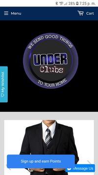 Under Clubs screenshot 1
