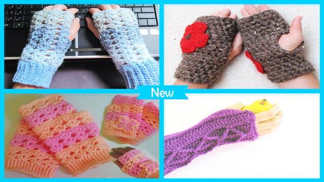 Manoplas sin dedos Easy Crochet Descarga APK - Gratis Arte y Diseño ...
