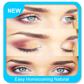 Easy Homecoming Natural Makeup icon