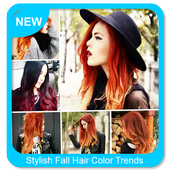 Stylish Fall Hair Color Trends icon