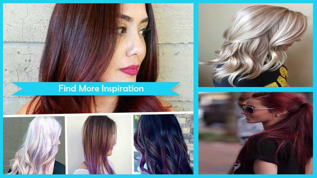 Stylish Fall Hair Color Trends poster