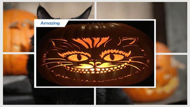 Simple DIY Black Cat Pumpkins screenshot 2