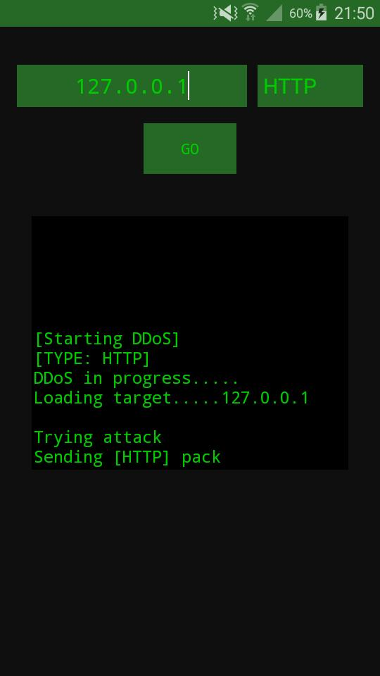 DDoS Attacker Simulator for Android - APK Download